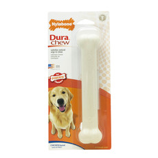 Nylabone Durachew Bone Chicken Flavoured Dog Chew Large