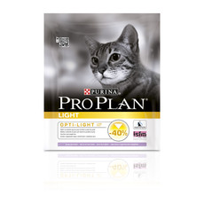 Pro Plan Light Adult Cat Food With Turkey 3kg