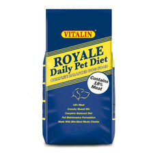 Vitalin Royale Dog Food 2.5kg To 15kg