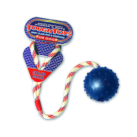 Ropeball Dog Toy 2.5in To 4 X 2.5in