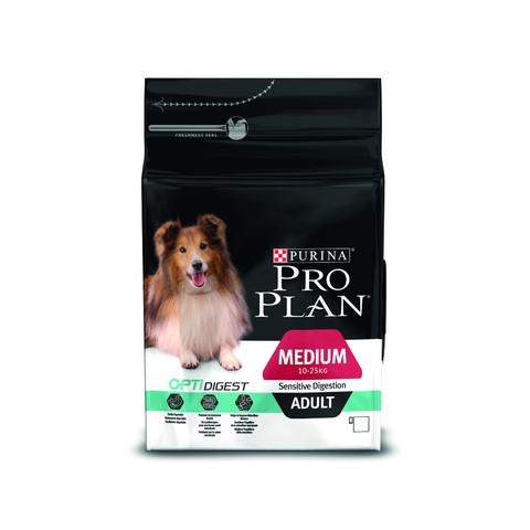 Pro Plan Medium Breed Optidigest Adult Dog Food For Sensitive Digestion With Chicken 3kg To 14kg