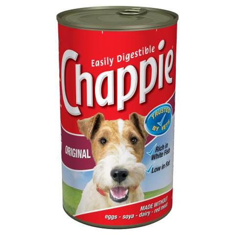 Chappie Adult Original Dog Food Can 12 X 1260g