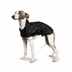 Ancol Muddy Paws Whippet Dog Coat In Black 53cm