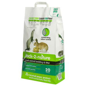Back 2 Nature Small Animal Bedding And Litter 30 Litre