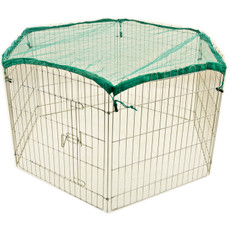 Walter Harrisons Fellside Small Animal Metal Play Pen 60x60cm