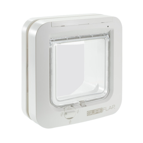 Sureflap White Microchip Cat Flap
