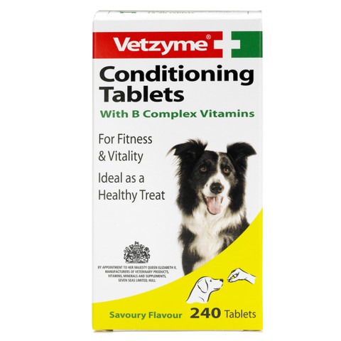Vetzyme Dog And Cat Conditioning Tablets 240tab