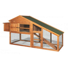 The Hutch Company Giant Small Animal Hutch With Run Area 8x4x3ft