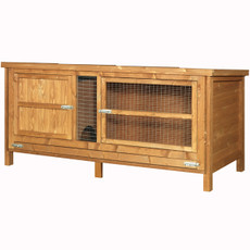The Hutch Company Single Guinea Pig & Rabbit Hutch 5x2x2ft