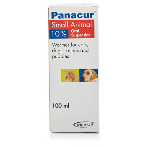 Panacur Cats, Kittens, Dogs And Puppies Worming Oral Suspension 10% 100ml