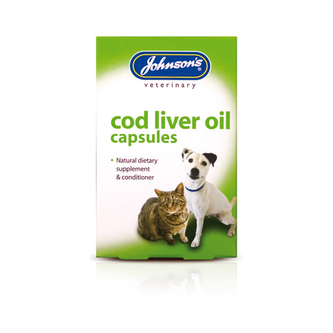 Johnsons Cod Liver Oil Tablets 40tab To 6 X 40tab