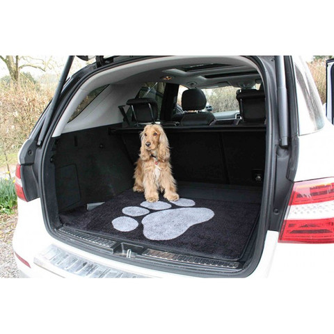 Pet Rebellion Car Boot Mate Non Slip Mat In Black 67x100cm