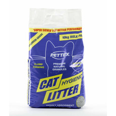 Pettex Premium Grey Clumping Cat Litter 10kg