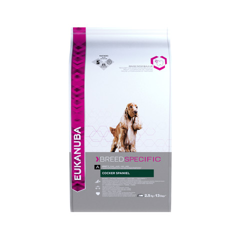 Eukanuba Adult Cocker Spaniel Dry Dog Food 2.5kg To 7.5kg