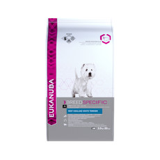 Eukanuba Adult West Highland White Terrier Dry Dog Food 2.5kg