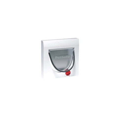 Staywell Classic Manual 919 4 Way Locking Cat Flap In White