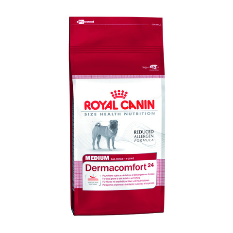 Royal Canin Medium Dermacomfort Adult Dog Food 3kg To 2 X 10kg