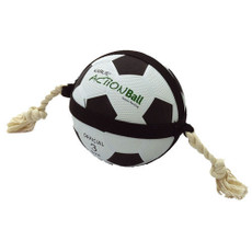 Karlie Action Football Rope Tug Dog Toy