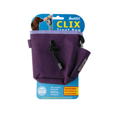 The Company Of Animals Purple Clix Training Treat Bag