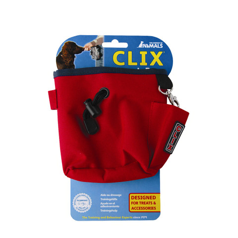 The Company Of Animals Red Clix Training Treat Bag