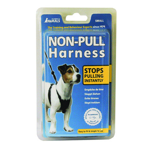 The Company Of Animals Black Non-pull Dog Harness Small