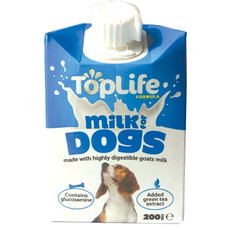 Toplife Milk For Dogs 18 X 200ml To 200ml