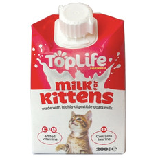 Toplife Formula Kitten Milk 200ml