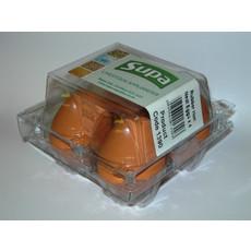 Supa Rubber Nest Hen Eggs 4 Pack