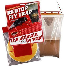 Red Top Fly Trap Catcher Bag