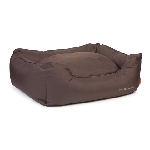 Ancol Brown Timberwolf Extreme Waterproof Domino Dog Bed Large To Jumbo