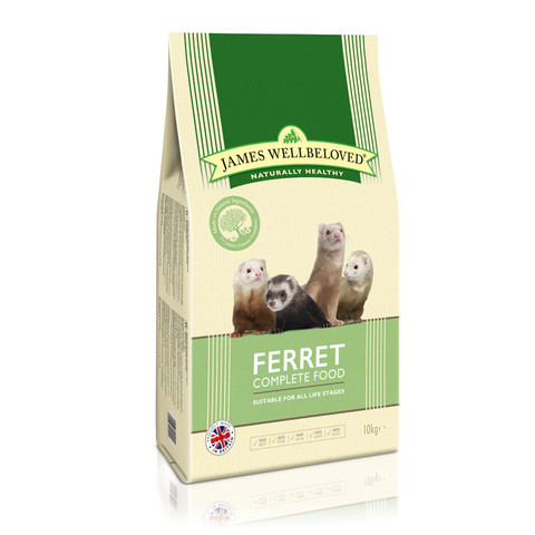 James Wellbeloved Complete All Lifestage Ferret Food 2kg To 10kg