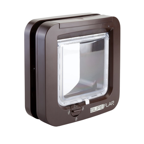 Sureflap Brown Microchip Cat Flap