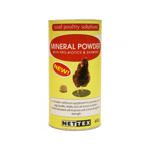Net-tex Poultry Mineral Powder 450g