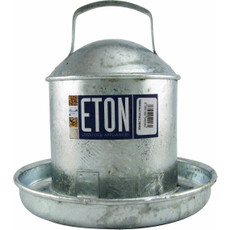 Tusk Galvanised Poultry Drinker Medium