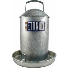 Tusk Galvanised Poultry Drinker Large