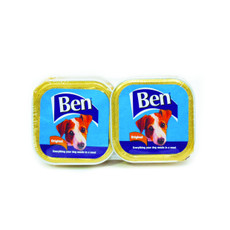 Ben Adult Original Foil Trays 5 X 4x150g
