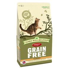James Wellbeloved Grain Free Turkey And Vegetable Adult Cat Food 1.5kg