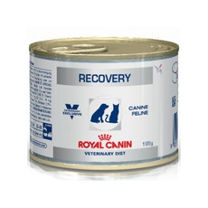 Royal Canin Veterinary Recovery Can Wet Food For Cats And Dogs 12x195g