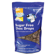 Good Boy Sugar Free Chocolate Drops Dog Treats 250g