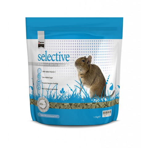 Science Selective Degu Food Brocolli And Basil 350g To 5 X 350g