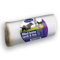 Hollings Lamb And Rice Filled Bone Dog Treat
