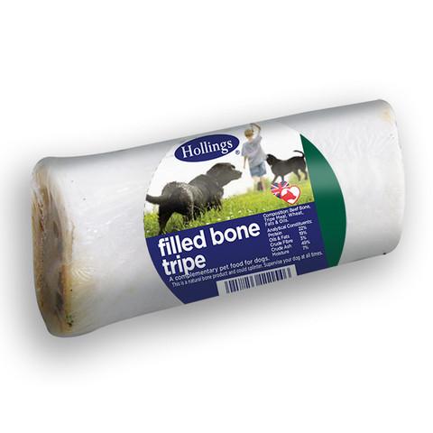 Hollings Tripe Filled Bone Dog Treat 20 X  To