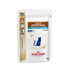 Royal Canin Veterinary Feline Gastro Intestinal Moderate Calorie 48x100g