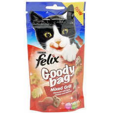 Felix Goody Bag Mixed Grill Cat Treats 60g