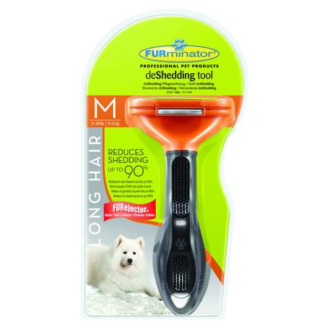 Furminator Medium Dog Long Hair Deshedding Tool