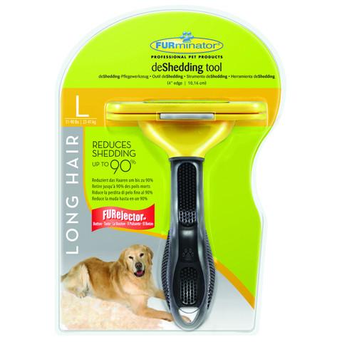 Furminator Large Dog Long Hair Deshedding Tool