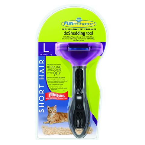 Furminator Large Cat Short Hair Deshedding Tool