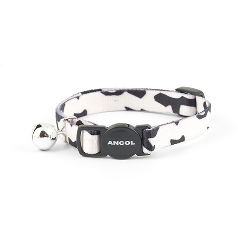 Ancol Black And White Camouflage Cat Collar
