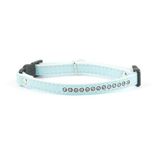 Ancol Deluxe Baby Blue Jewel Cat Collar
