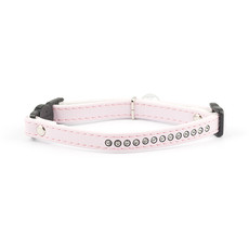 Ancol Deluxe Baby Pink Jewel Cat Collar